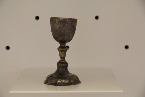 Kidduspohár <br /><em>Kiddush cup</em>