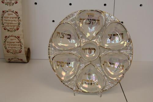 Szédertál<br /><em>Seder Plate</em>