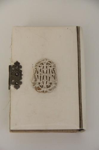 Imakönyv díszes kötésben<br /><em>Prayer book in ornate cover</em>