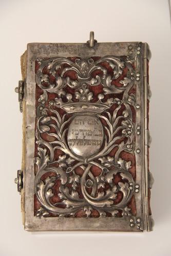 Imakönyv ezüst kötéssel <br /><em>Prayer book</em>