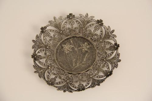 Tányérka (ezüstfiligrán)