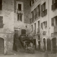Róma, régi gettó Piazzetta Rua
