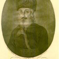 Münz Mózes portréjának eredeti réz nyomólemeze