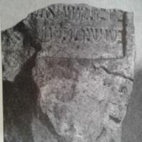 Sírkő a vízivárosi zsidó temetőből <br /><br />