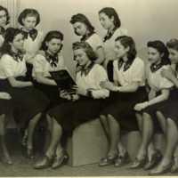 Zsidó gimnázium tornászcsapata