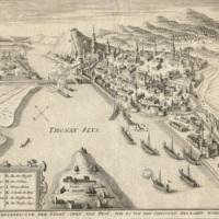 Buda ostromának térképe