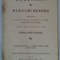 Emléknap. Alkalmi beszéd az 1848 évi magyar alkotmány 50 éves jubileuma alkalmából.