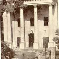 Abonyi zsinagóga bejárata