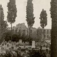 Részlet az aventinusi temetőből Rómában