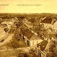Abonyi zsinagóga és a Szolnoki út