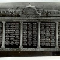 Abaújszántói áldozatok emléktáblájának fényképe