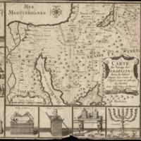 A Szentföld térképe