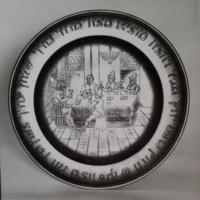 SzédertálSeder Plate