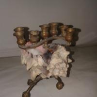 Gyertyatartó / Hanukkai menóraCandleholder / Hannukah Lamp