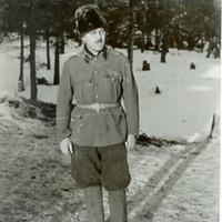 Dr. Fehér Béla munkaszolgálatos századorvos fényképe<br /><br />