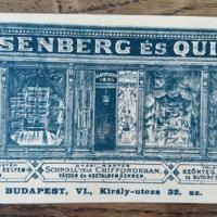Rosenberg és Quitt cég számolócédulája