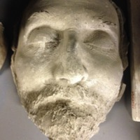 Kiss József halotti maszk