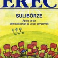 Újságcímlap - Erec 1996