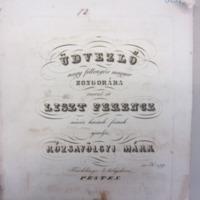 Üdvezlő Liszt Ferenczhez