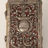 Imakönyv ezüst kötéssel Prayer book
