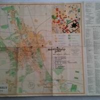 A szombathelyi gettó térképe