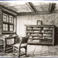 Spinoza szobája Hágában