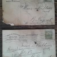 Solti és Boskovits cég levelezőlapjai