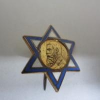 Dávid-csillag alakú jelvény