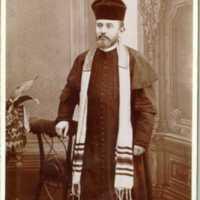 Országos Rabbiképző Intézetben végzettek albuma Bloch Mózesnek dedikálva