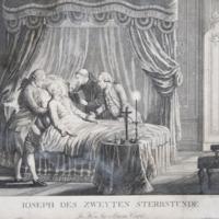 II. József a halála óráján