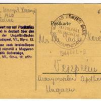 """""""Waldsee"""" levelezőlap""""Waldsee"""" postcard"""