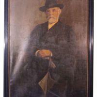 Halász Nátán portréja