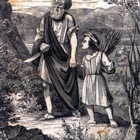 Ábrahám és Izsák Abraham and Isaac