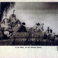 Bábel vizeinél - bibliai jelenet By the rivers of Babilon - biblical scene